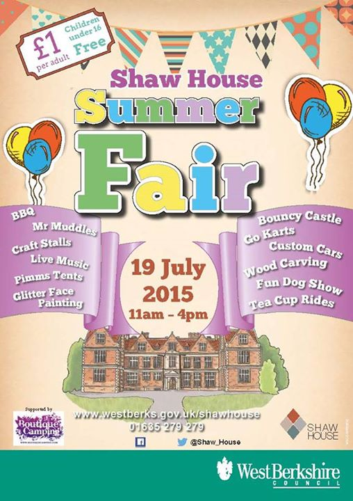 Shaw House Summer Fair 2015