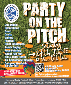Party on the Pitch Poster